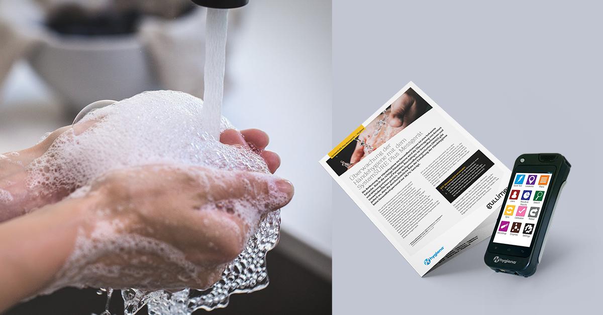 Überwachung der Händehygiene