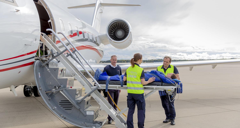Persönliche Sicherheit der Crew & Patienten garantieren