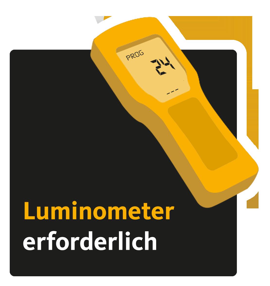 Luminometer erforderlich